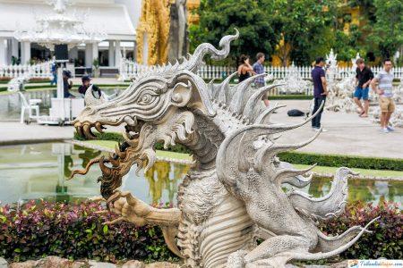 Chiang Rai- estatua