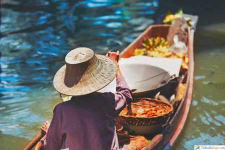 Mercado Flotante de Damnoen Saduak-tailandia